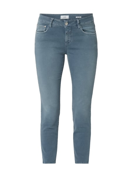Closed Coloured Slim Fit Jeans Blau - 1