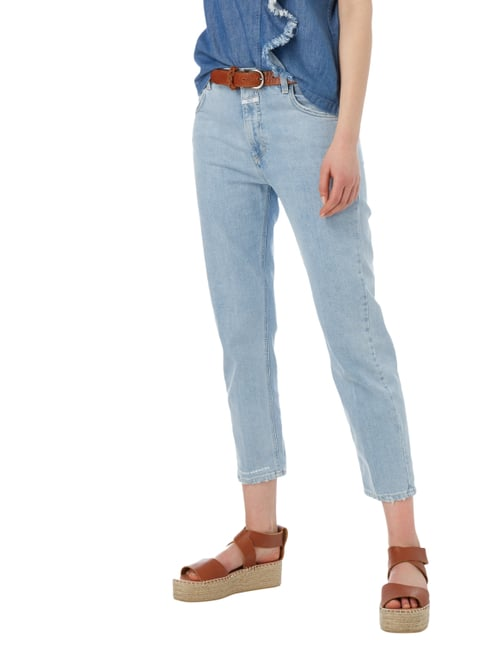 Closed Girlfriend Jeans im Used Look Blau - 1