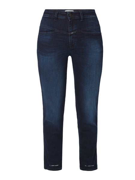 Closed High Waist Slim Fit Jeans Blau - 1