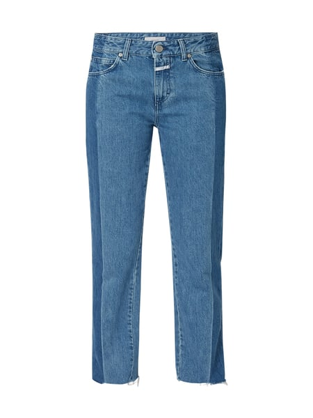 Closed Loose Fit Jeans mit Logo-Print Blau - 1