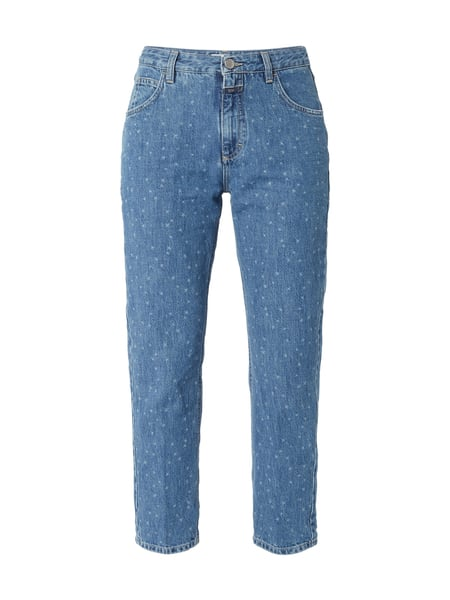 Closed Heartbreaker - Mom Fit Jeans mit Sternenmuster Jeans