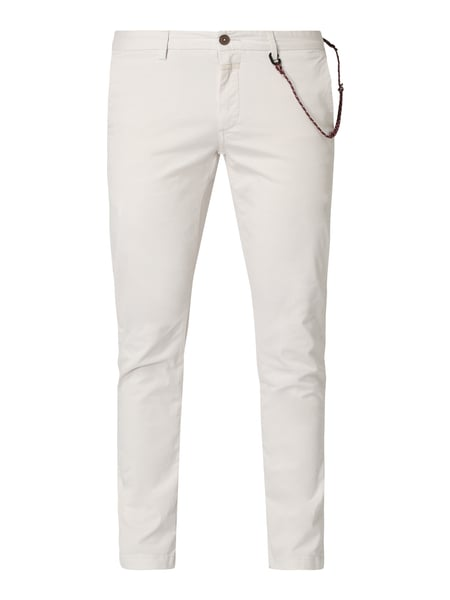 Closed Skinny Fit Chino mit Stretch-Anteil Weiß - 1