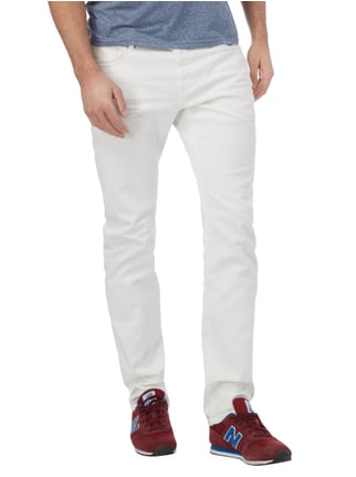 Closed Slim Fit 5-Pocket-Jeans im Used Look Offwhite - 1