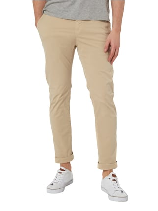 Closed Slim Fit Chino aus Baumwoll-Elasthan-Mix Beige - 1