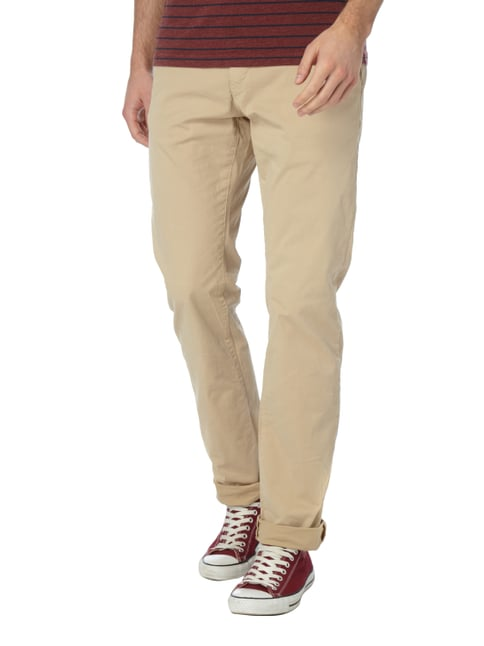 Closed Slim Fit Chino mit Stretch-Anteil Beige - 1