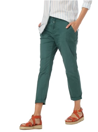 Closed Slim Fit Chino mit Stretch-Anteil Hellgrün - 1