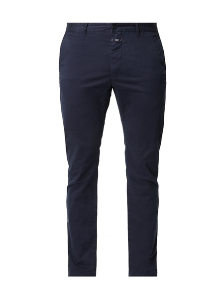 Closed Clifton Slim - Slim Fit Chino mit Stretch-Anteil Marineblau