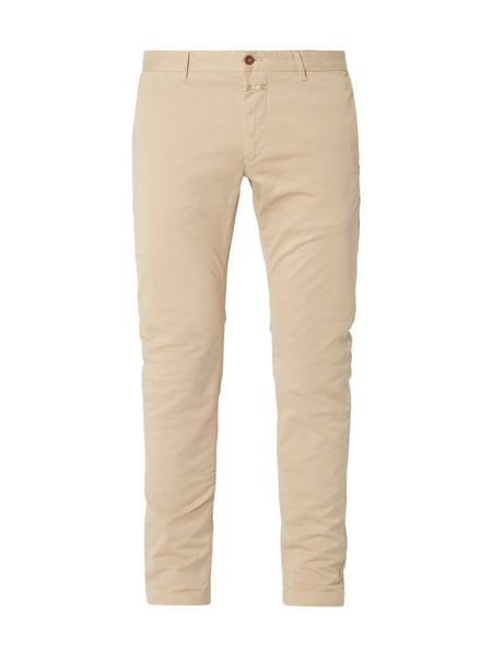Closed Clifton Slim - Slim Fit Chino mit Stretch-Anteil Sand