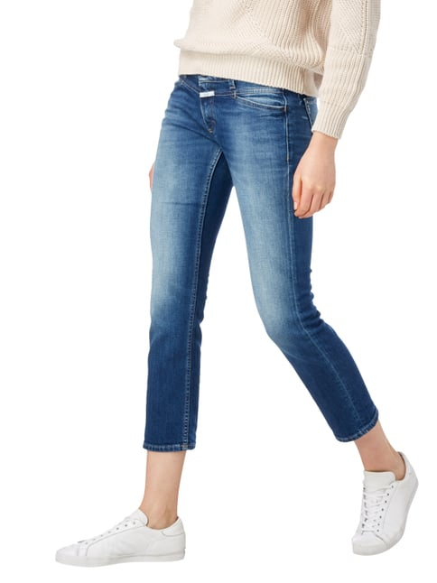 Closed Slim Fit Jeans im Used Look Jeans - 1