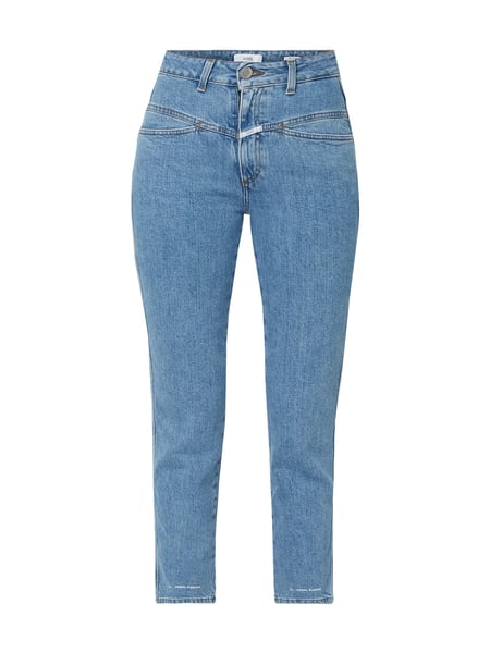 Closed Stone Washed High Rise Jeans Blau - 1