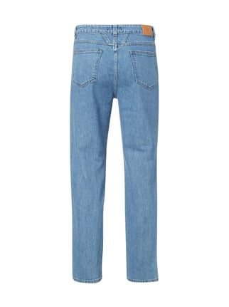 Closed Stone Washed High Waist Jeans Hellblau - 1