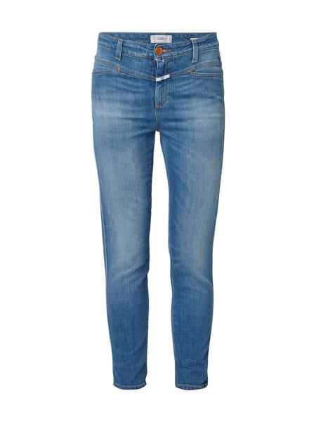 Closed Skinny Pusher - Stone Washed High Waist Jeans Jeans