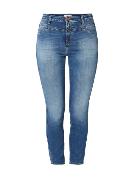 Closed Stone Washed Skinny Fit Jeans Blau - 1
