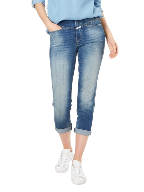 Closed Stone Washed Slim Fit Jeans Blau - 1