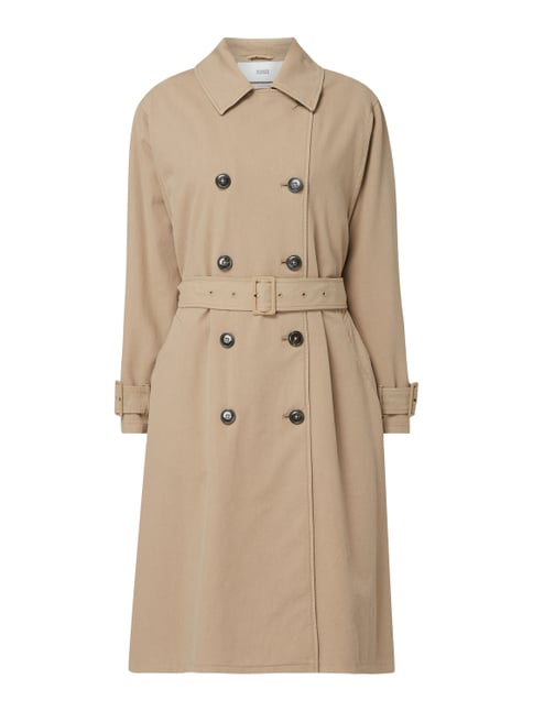 new style 1cfdf bbcfd Trenchcoat mit 2-reihiger Knopfleiste