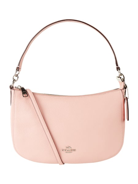 COACH Crossbody Bag aus echtem Leder Rosa