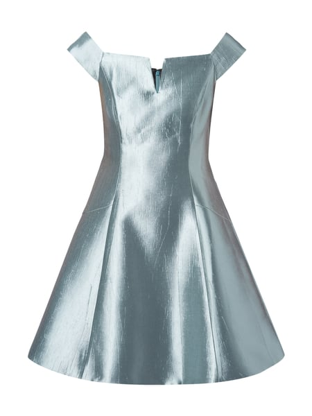 Coast Cocktailkleid in schimmernder Optik Metallic Grün