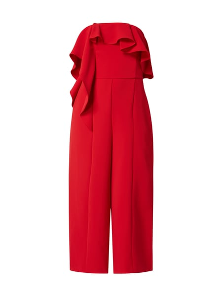 Coast Off Shoulder Jumpsuit mit Volantbesatz Rot - 1