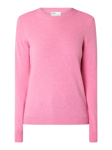 Colorful Standard – Pullover aus Merinowolle – Pink