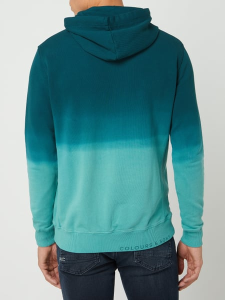 COLOURS & SONS Sweatshirt in Batik Optik in Weiß online