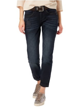comma Casual Identity Boyfriend Fit 5-Pocket-Jeans im Destroyed Look Jeans - 1