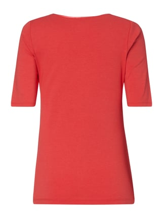comma Casual Identity Shirt mit 1/2-Arm Rot - 1