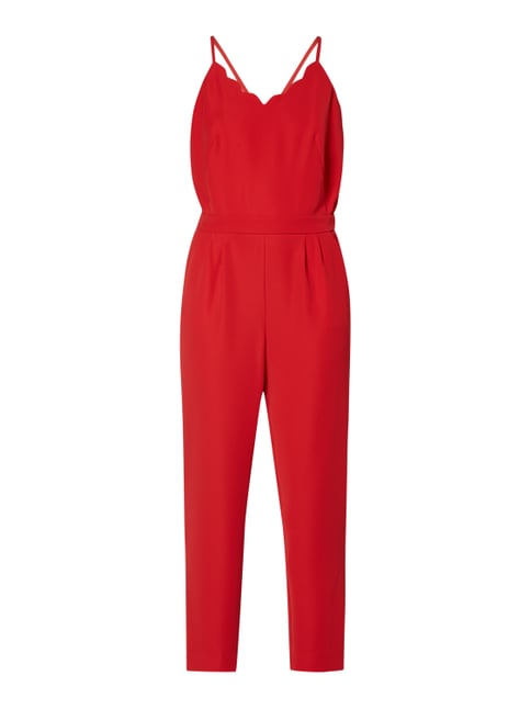 finest selection fb5e2 89770 Jumpsuit mit Muschelsaum