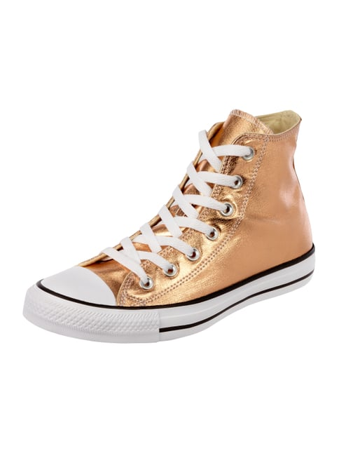 High Top Sneaker 'All Star' in Metallicoptik Orange - 1