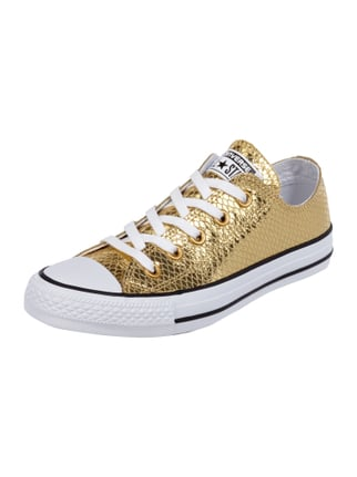 Sneaker 'All Star' in Metallicoptik Gelb - 1