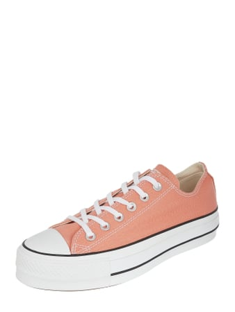 Converse Sneaker 'CTAS Lift OX' aus Canvas Orange - 1