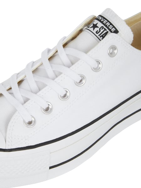 CONVERSE Sneaker 'CTAS Lift OX' aus Canvas in Weiß online