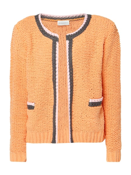 Delicate Love Cardigan aus Grobstrick Apricot