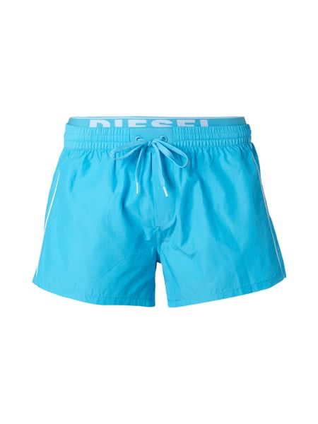 08a569bb705a1a DIESEL Badeshorts im Double-Layer-Look in Blau   Türkis online ...