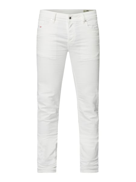 Diesel Coloured Skinny Fit Jeans Weiß - 1