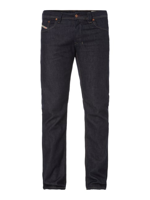 Rinsed Washed Regular Straight Fit Jeans Blau / Türkis - 1