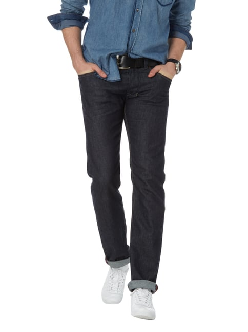 Diesel Rinsed Washed Regular Straight Fit Jeans Jeans - 1