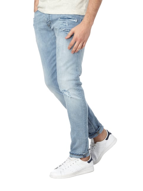 Diesel Slim Fit Jeans im Destroyed Look Jeans - 1