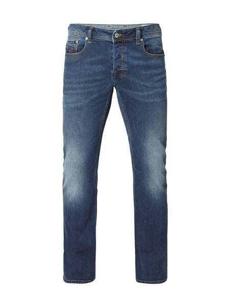 Diesel Zatiny 84bu - Stone Washed Boot Cut 5-Pocket-Jeans Jeans