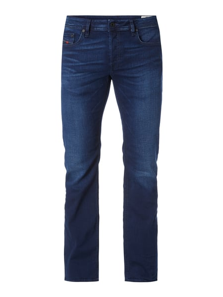 Diesel Zatiny 84hj - Stone Washed Regular-Bootcut Jeans Jeans