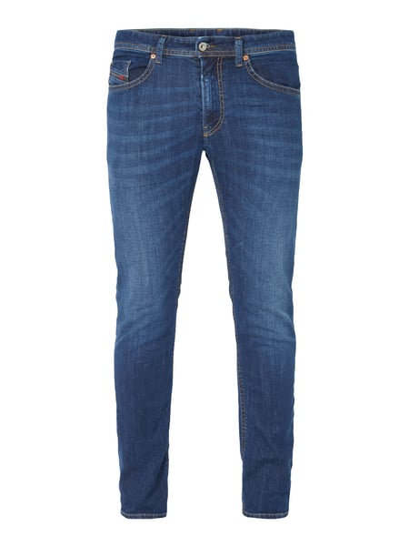 Diesel Thommer 84nr - Stone Washed Slim-Skinny Fit Jeans Jeans