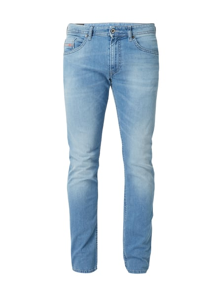 Diesel Thommer 84qn - Stone Washed Slim-Skinny Fit Jeans Jeans