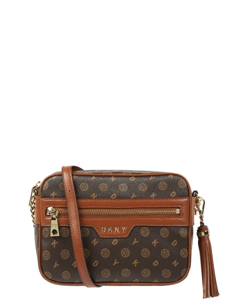 DKNY Camera Bag mit Logo-Muster Modell 'Polly' Braun - 1
