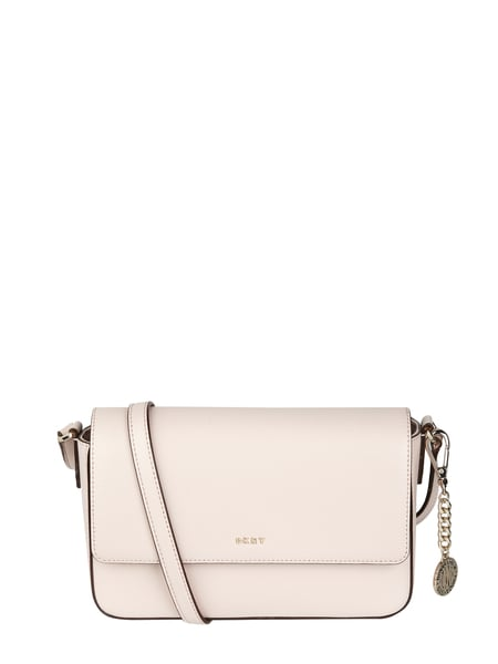 DKNY Crossbody Bag aus Leder mit Logo-Applikation Rosé - 1