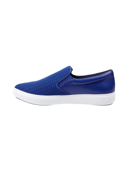 dkny slip on sneaker mit echtem leder in blau t rkis online kaufen 9471220 p c online shop. Black Bedroom Furniture Sets. Home Design Ideas
