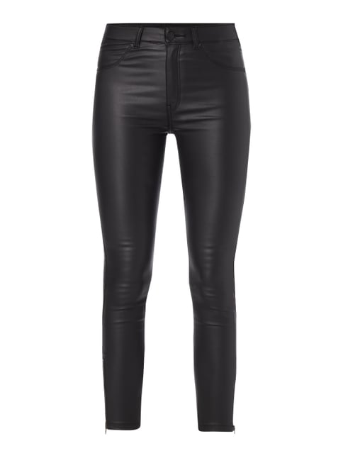 Coated Super Skinny Fit Jeggings Grau / Schwarz - 1