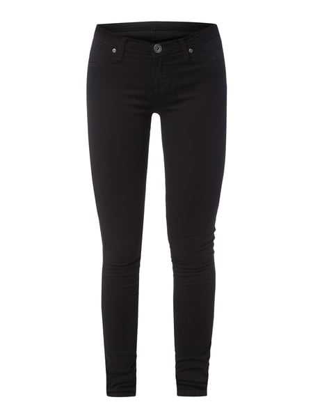 Dr. Denim Kissy - Jeggings aus Coloured Denim Schwarz
