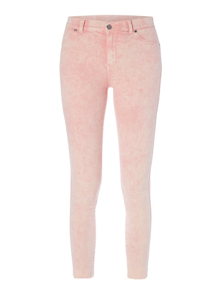Dr. Denim Plenty - Second Skin Fit Jeggings mit Ziertaschen Rosé