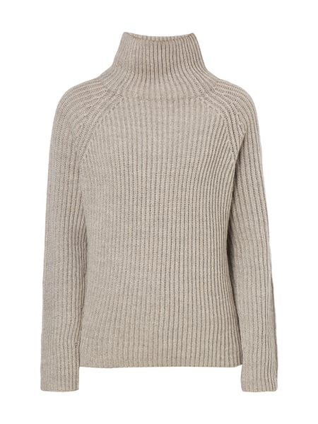 Drykorn ARWEN - Boxy Fit Pullover mit Turtleneck Taupe