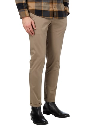 Drykorn Chino mit Stretch-Anteil Taupe - 1