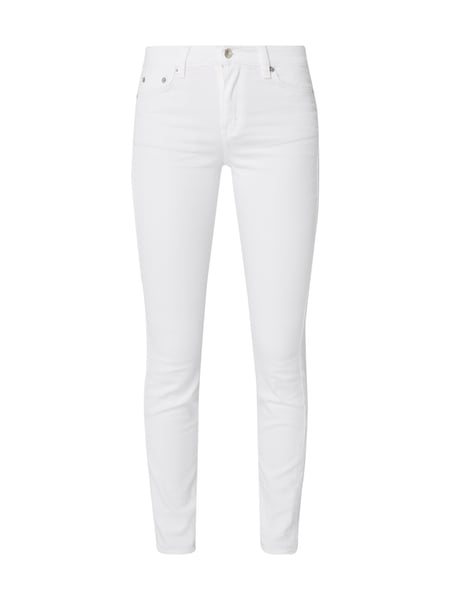 Drykorn Coloured Skinny Fit Jeans Offwhite
